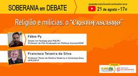 """Teólogo analisa o """"cristofascismo"""", ao vivo, nesta sexta (21)"""
