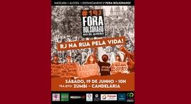 Mais de 300 cidades terão manifestações contra o governo neste sábado - 19J